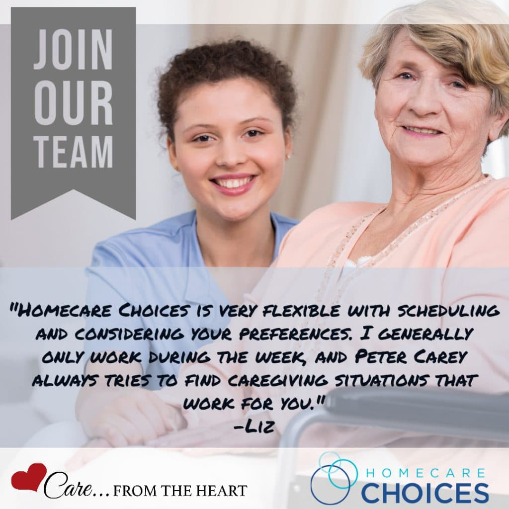 Homecare Choices is seeking caregivers on Cape Cod.
